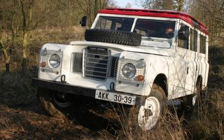Land Rover Series III.